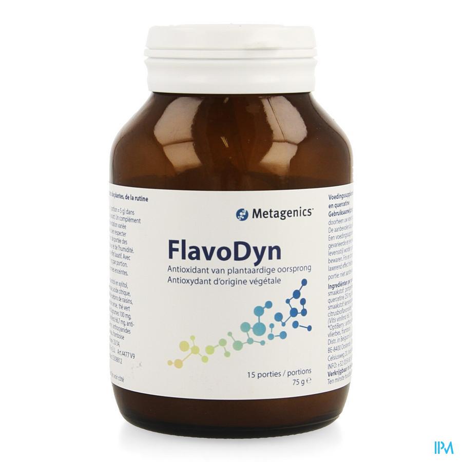 Flavodyn Pdr Pot 75g 4477 Metagenics