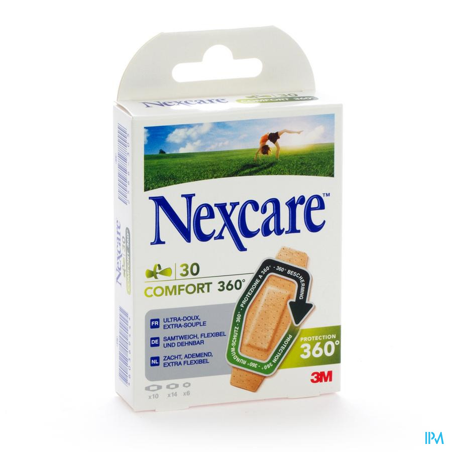 NEXCARE 3M COMFORT STRIP 360 ASSORTED 30