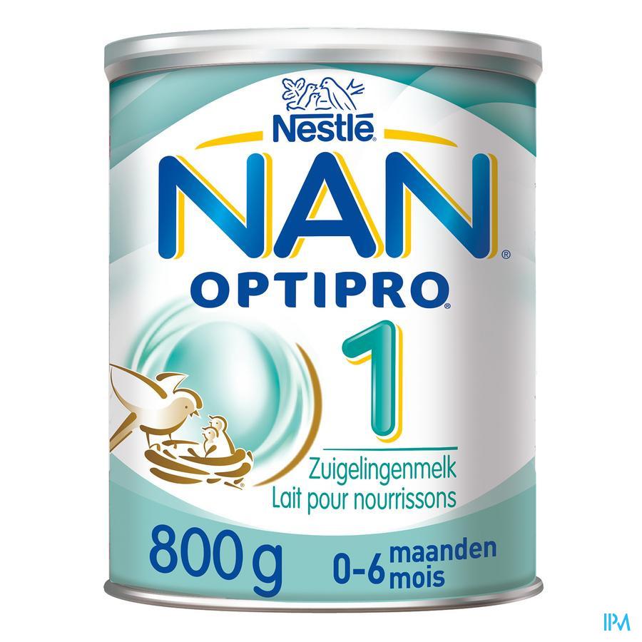 Nan Optipro 1 0-6m Lait Pdr 800g