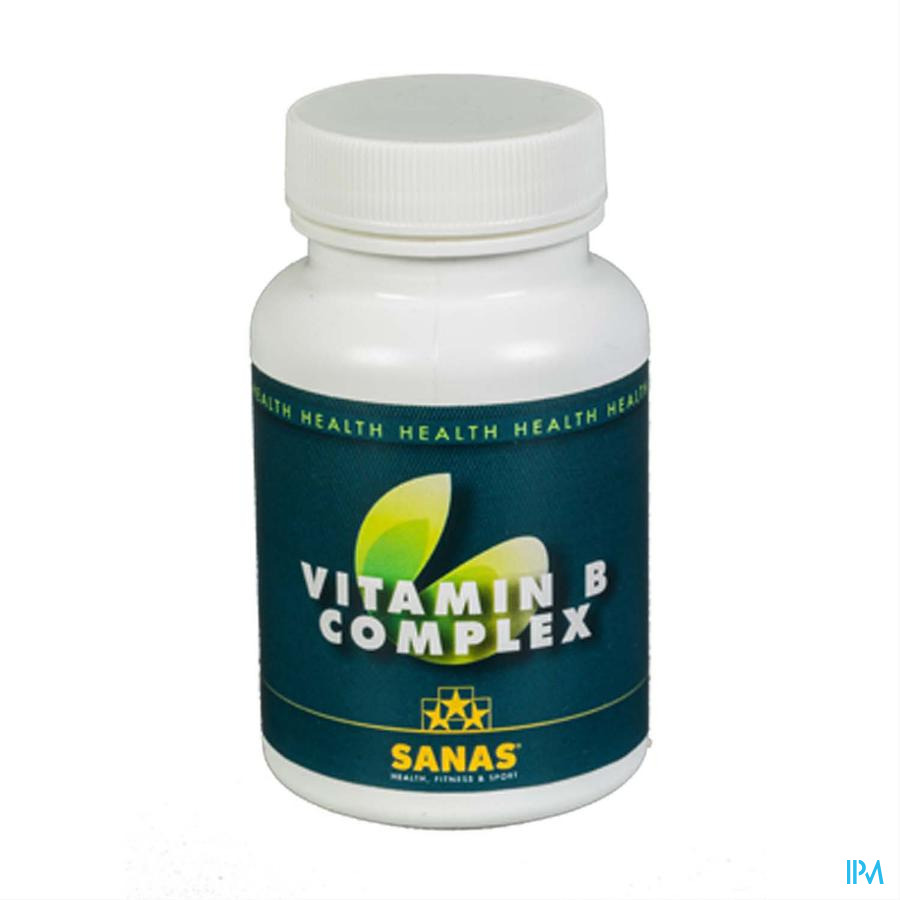 Sanas Vitamin B Complex Caps 180