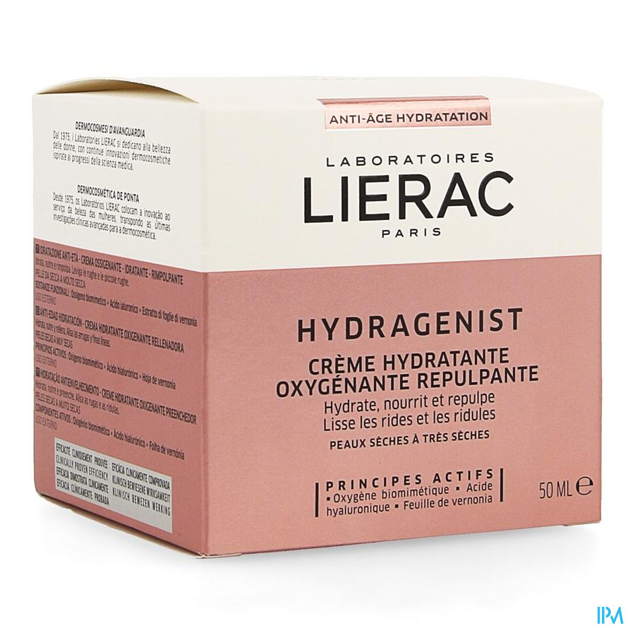 Lierac Hydragenist Creme Ps-pts Pot 50ml