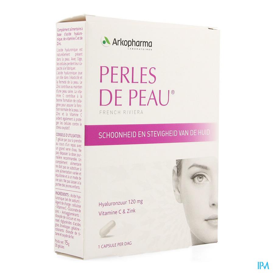 Perles De Peau Hyaluronzuur Caps 30