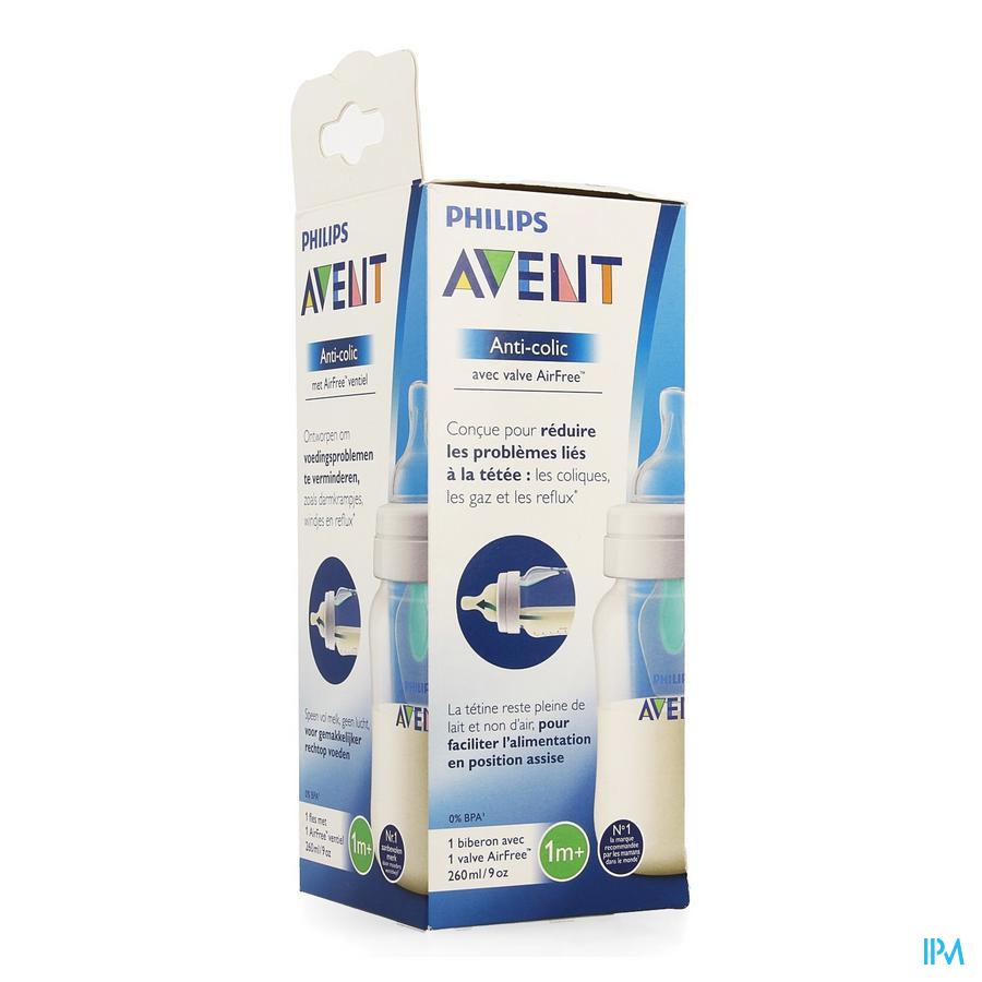 Philips Avent A/colic Biberon 260ml Scf813/14