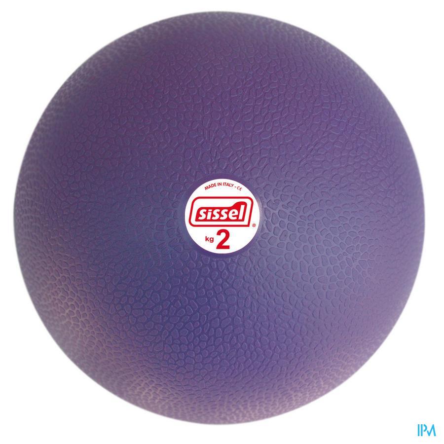 Sissel Medicine Ball 2kg 20cm Groen
