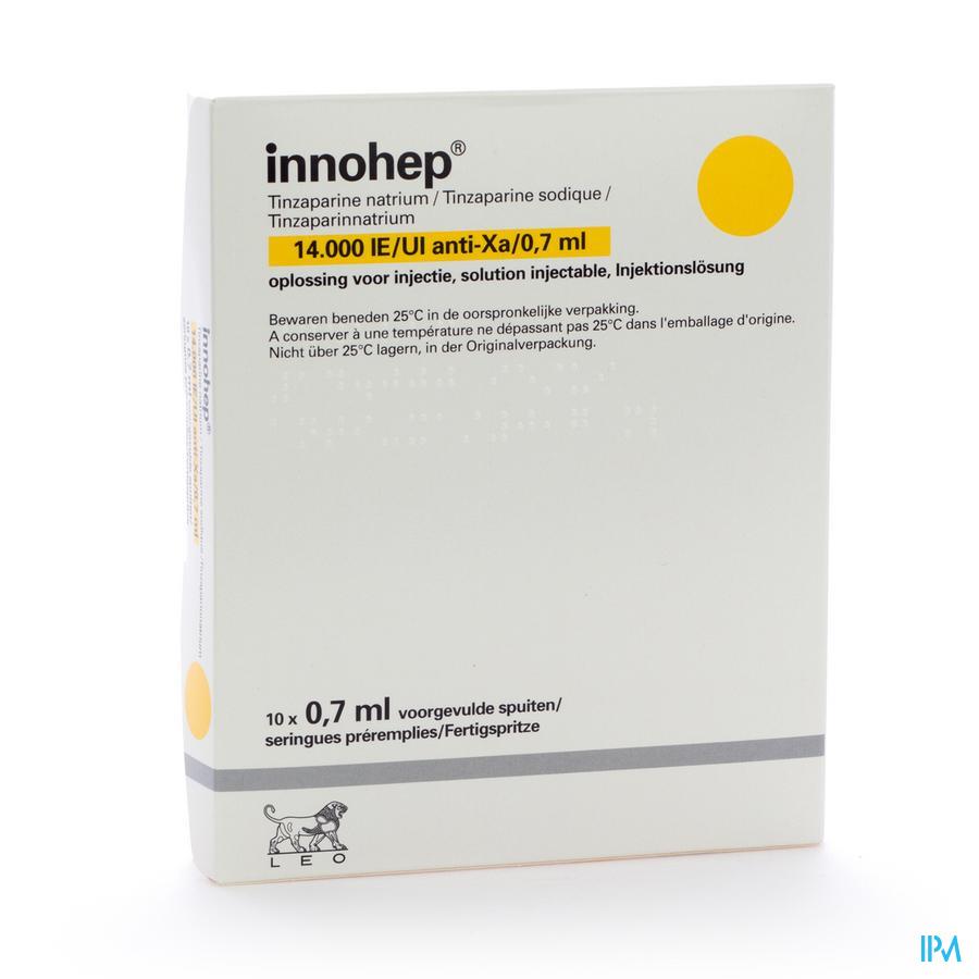 Innohep Ser Sc 10 X 14000 Iu 0,70 ml