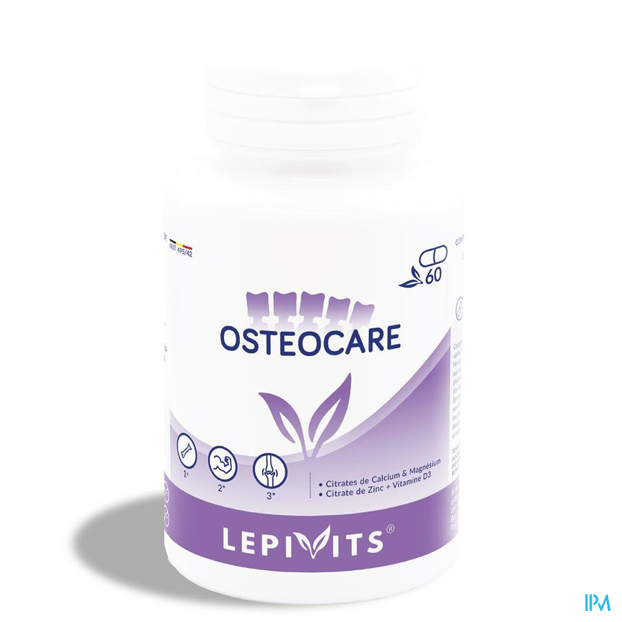 Lepivits Osteocare Caps 60
