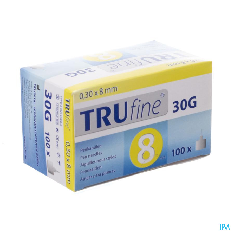 Trufine Aig.stylos 30g 0,30x 8mm 100 76003
