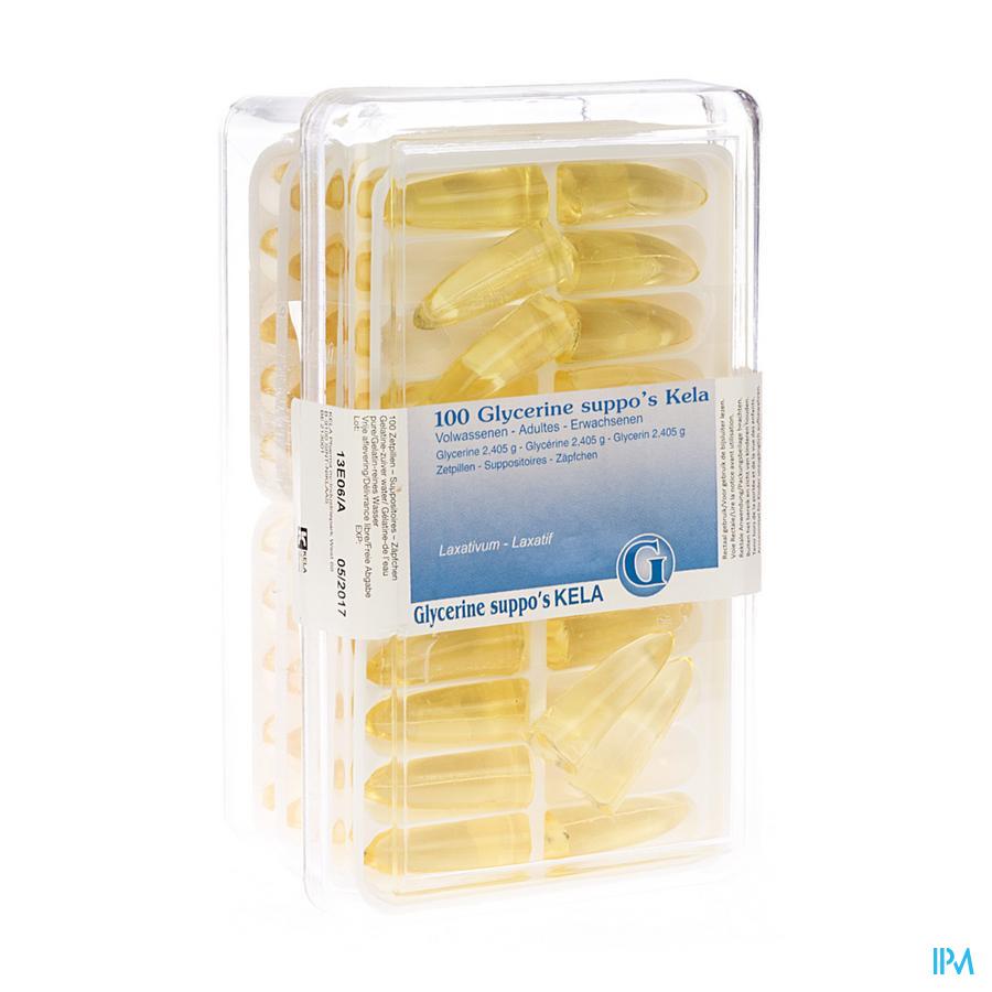 Glycerine Kela Pharma Suppo Ad 100