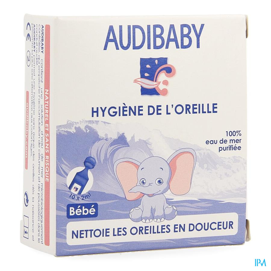 Audibaby Unidoses 10 X 2ml Rempl.1727130