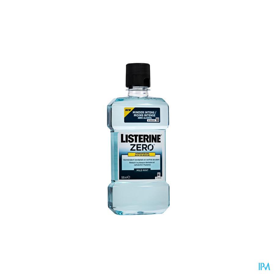 Listerine Zero Bain Bouche 500ml Cfr 3782273