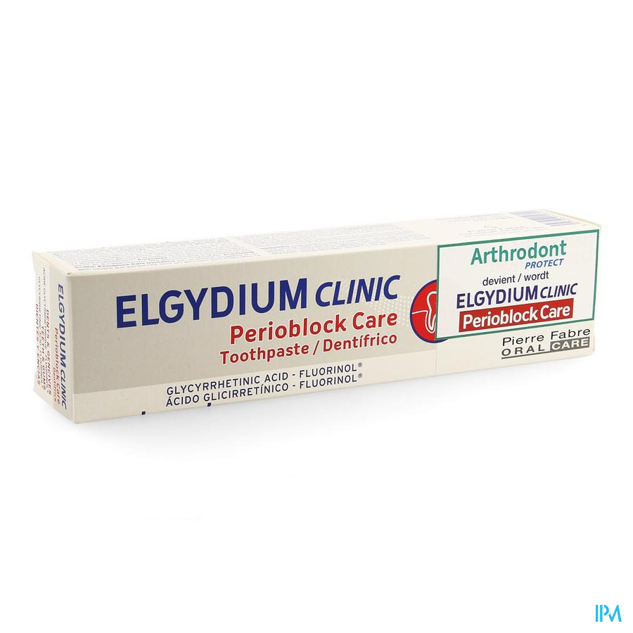 Elgydium Clinic Tandpasta Perioblock Care 75ml