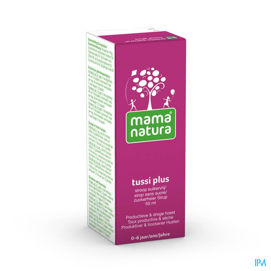 Mama natura tussi plus 50 ml orale siroop ZS