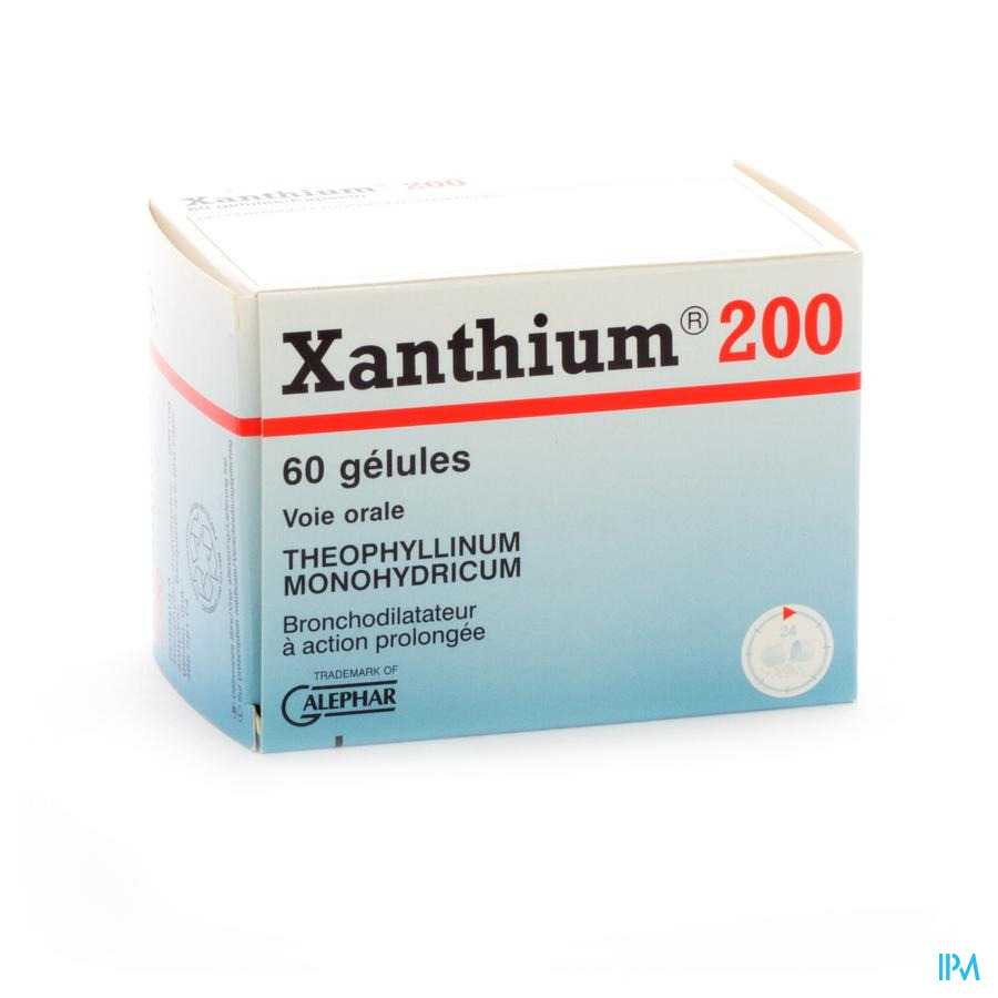 Xanthium 200 Caps 60 X 200mg