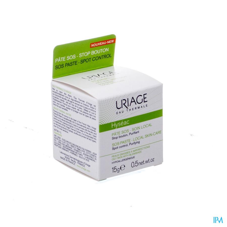 Uriage Hyseac Pasta Sos Creme 15ml