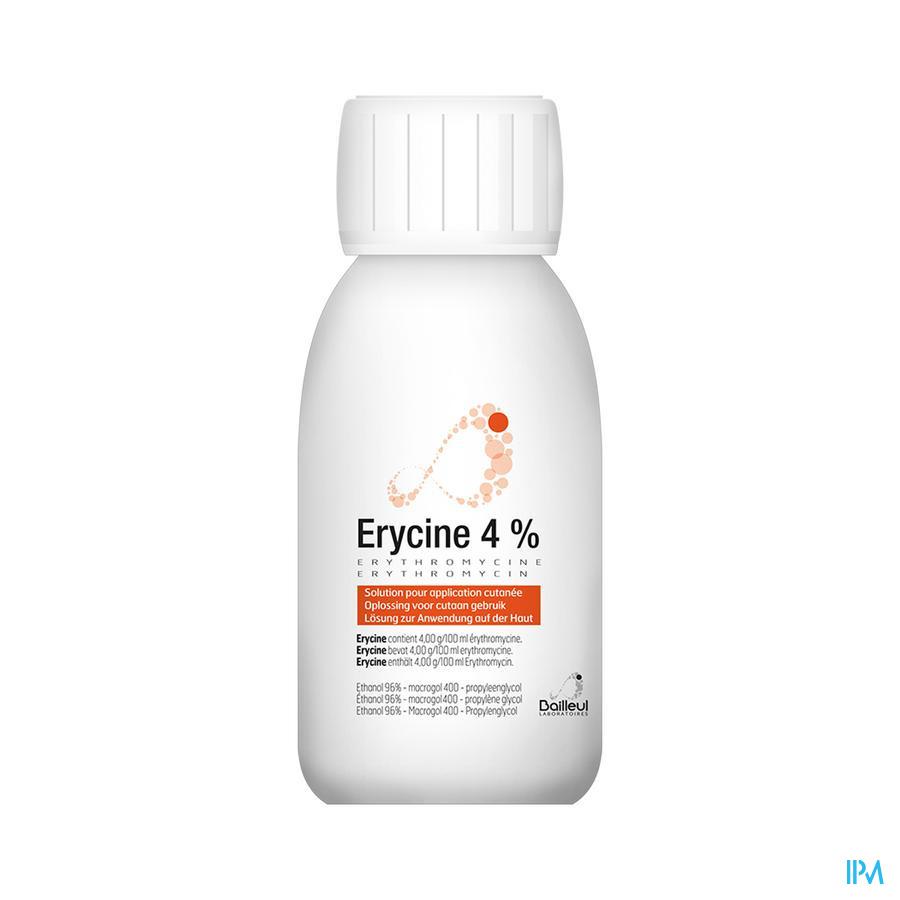 Erycine 4 % Oplossing Application Cutanee 100 ml  -  Lab. Bailleul-Biorga