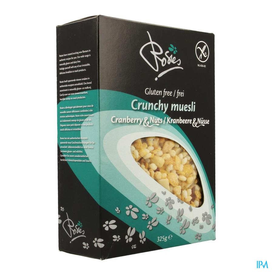 Rosies Crunchy Cranberry & Nuts 325g 5652