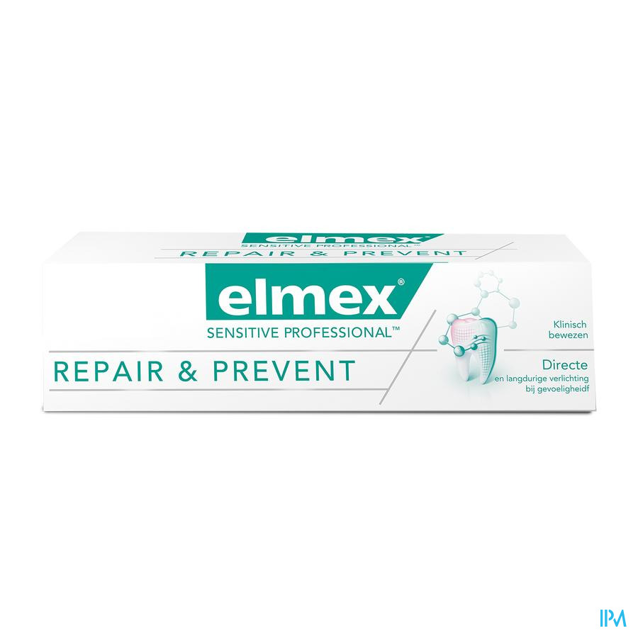 DENTIFRICE ELMEX® SENSITIVE PROFESSIONAL RÉPARE & PRÉVIENT TUBE 75ML