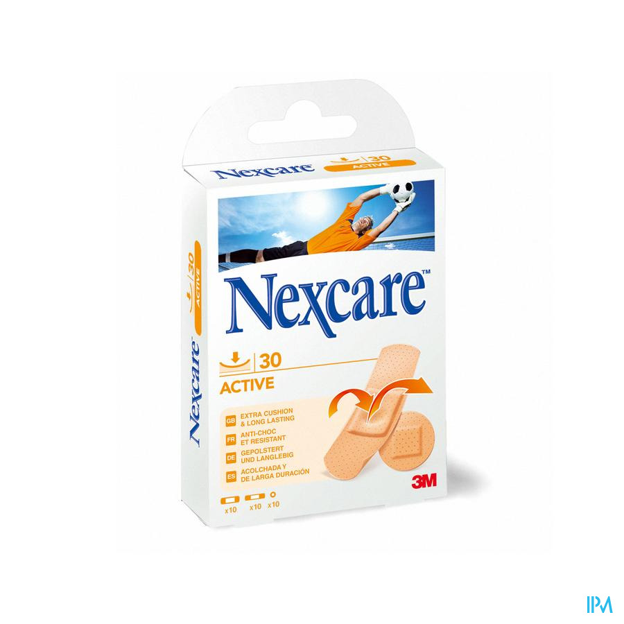 NEXCARE 3M ACTIVE STRIPS                 30 N1030A