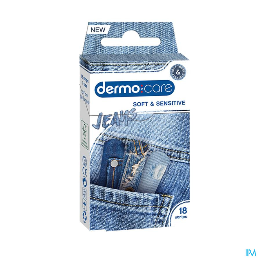 Dermo Care Jeans Pansement Strips 18