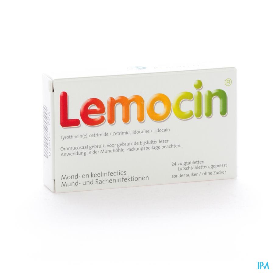 Lemocin Zuigtabl 24