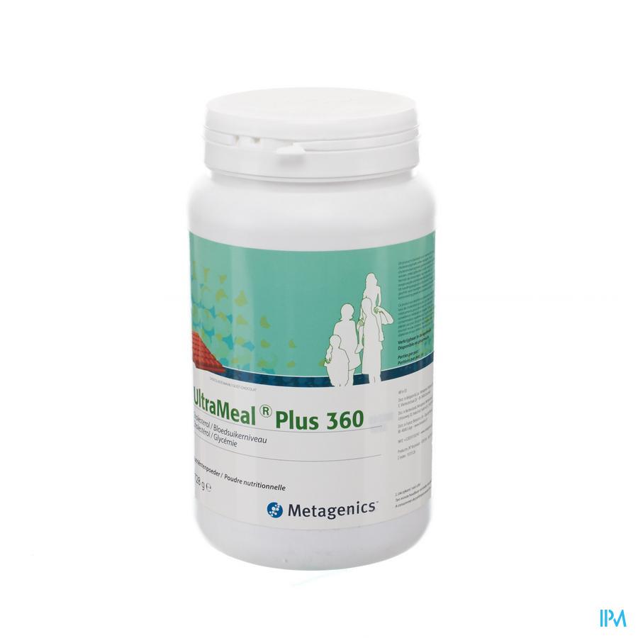 Ultrameal Plus 360 Chocolade Pot 728g Metagenics
