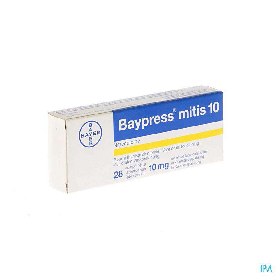 Baypress Mitis Tabletten 28 X 10 mg