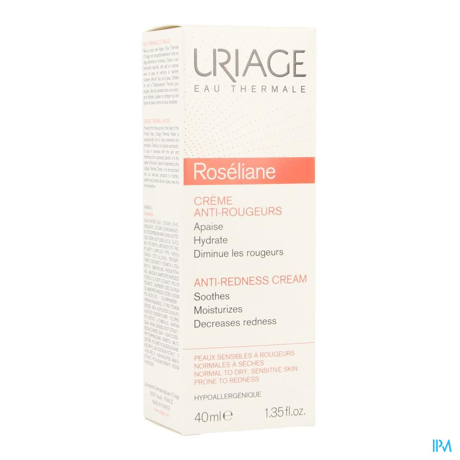 Uriage Roseliane Creme Anti Roodheid Tube 40ml