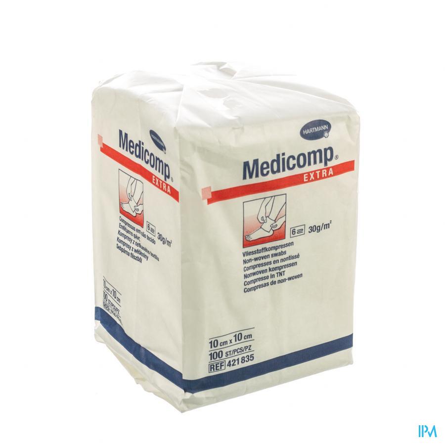 Medicomp 10x10cm 6l. Nst. 100 P/s