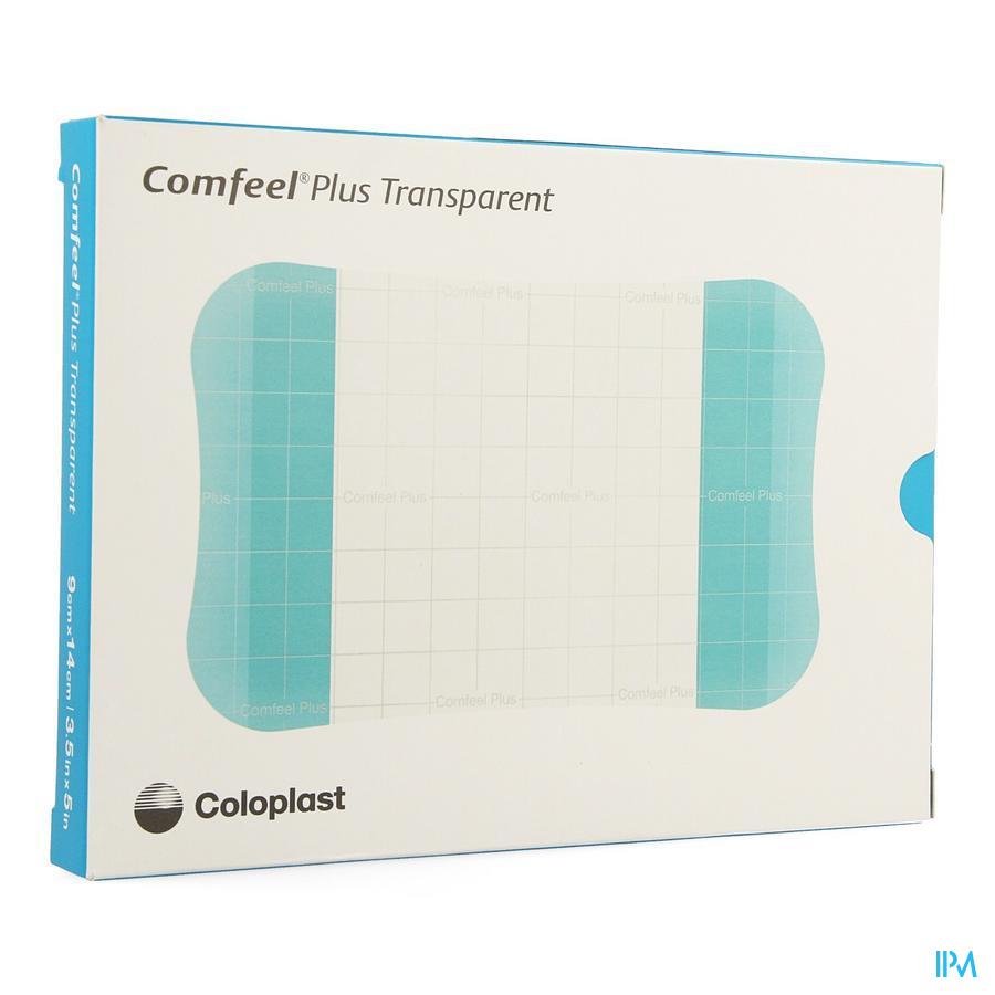 Comfeel Plus Platen Transp 9x14cm 10 33536
