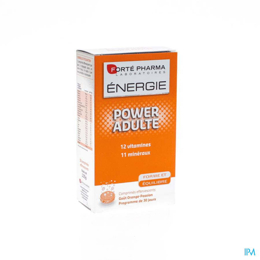 Energie Power Adulte Comp Efferv. 30