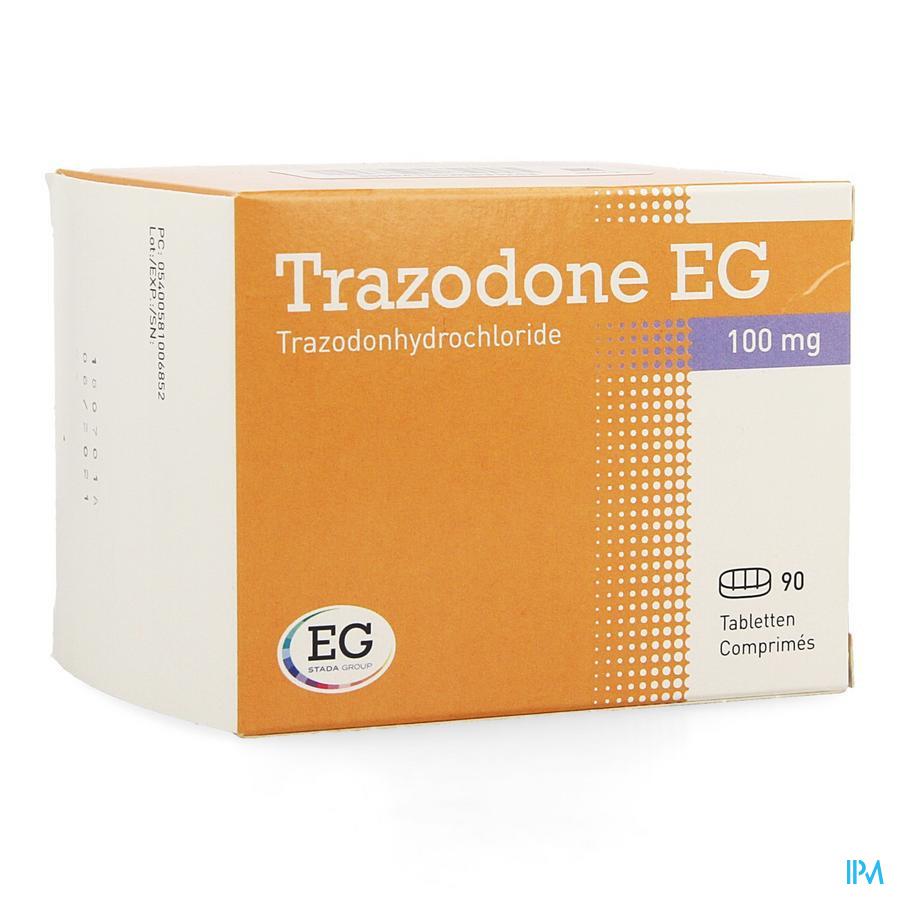 Trazodone Eg Tabl 90 X 100mg