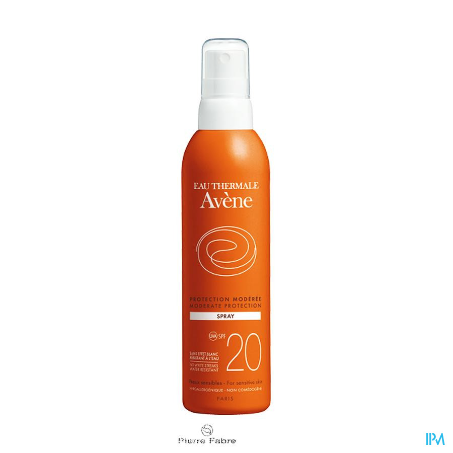 Avene Zon Spray Ip20 Z/parabeen 200ml