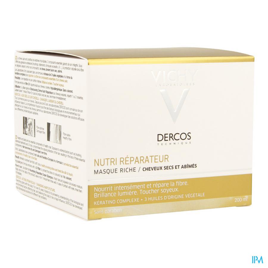 Vichy Dercos Nutrireparateur Masque 200ml