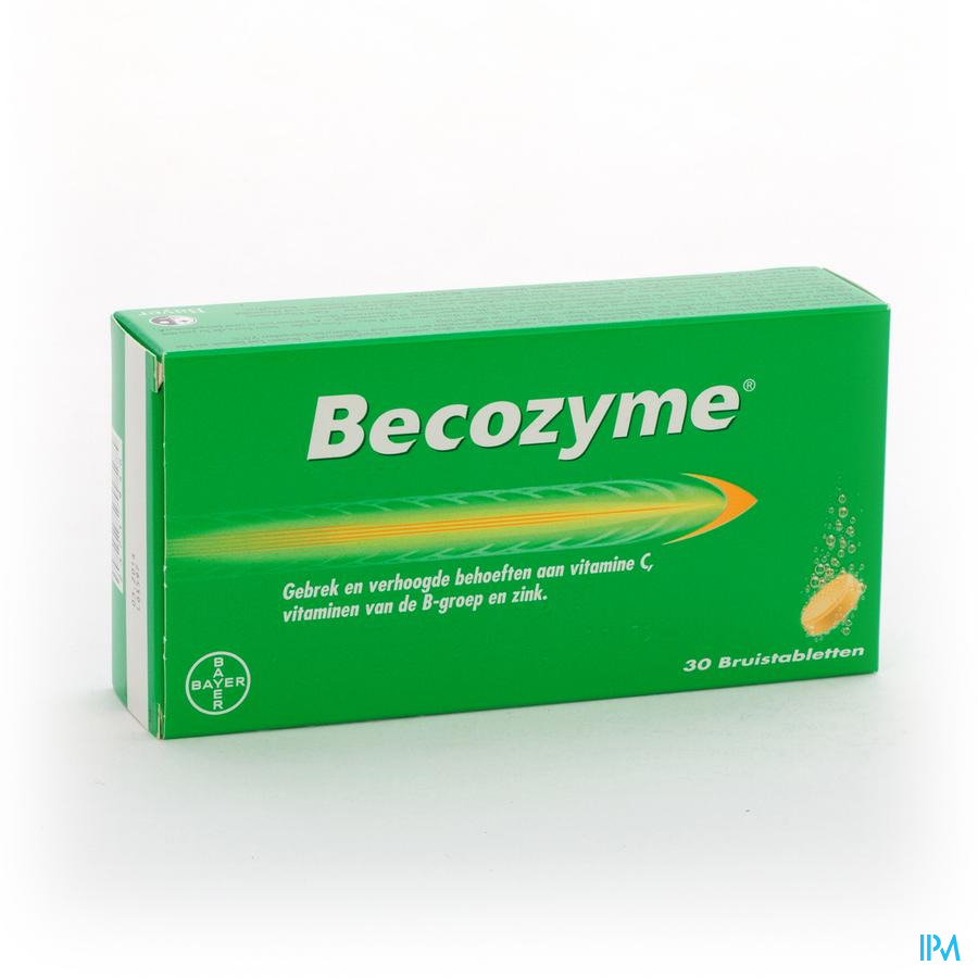 Becozyme Comprimés Effervescents - BruisComprimés 30