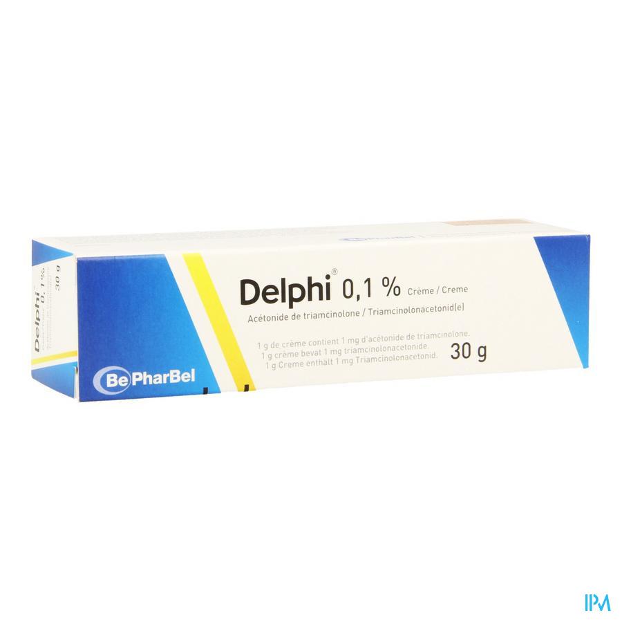Delphi Creme Derm 1 X 30 gr 0,1%