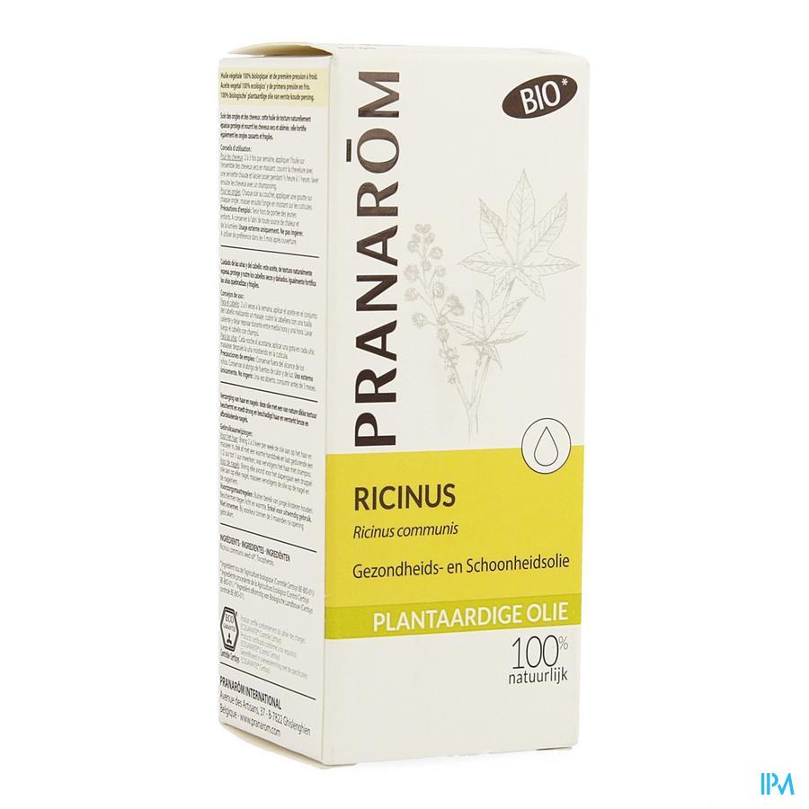 Ricin Plantaardige Olie Fl 50ml Pranarom