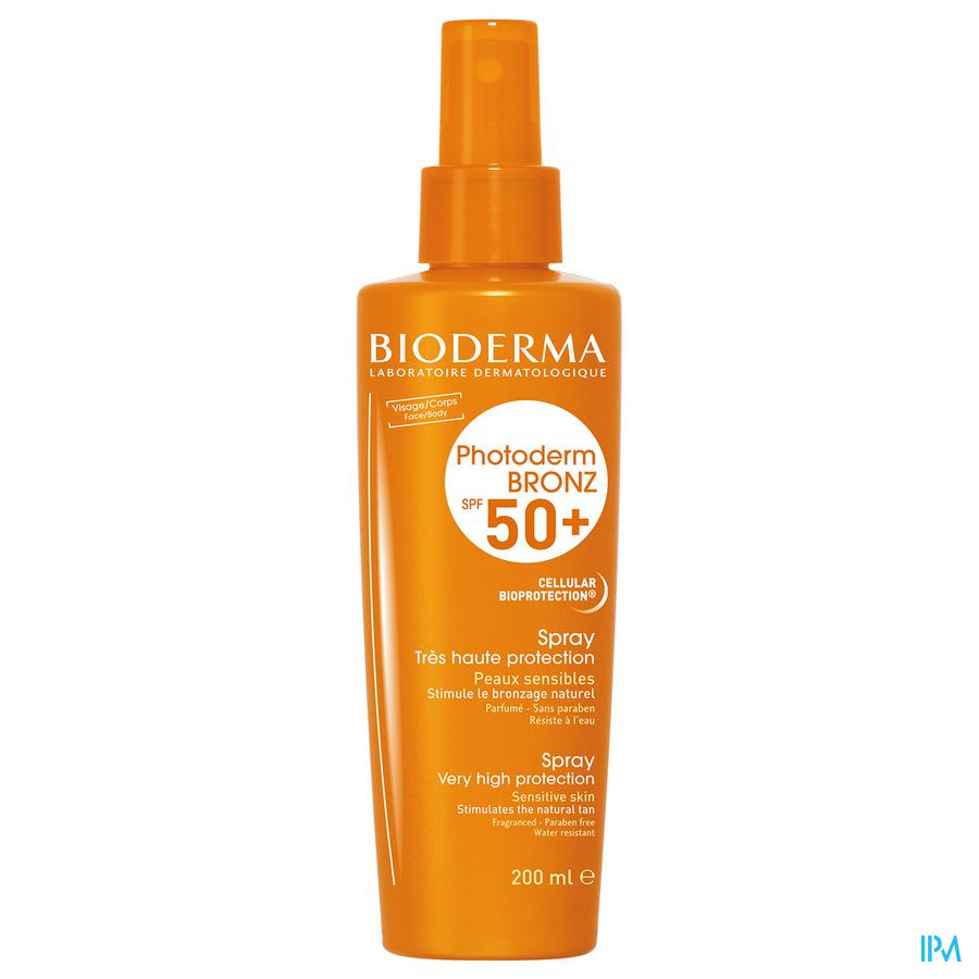 Bioderma Photoderm Bronz Ip50+ Spray Lichaam 200ml