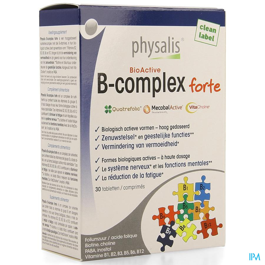 Physalis B-complex Forte Comp 30