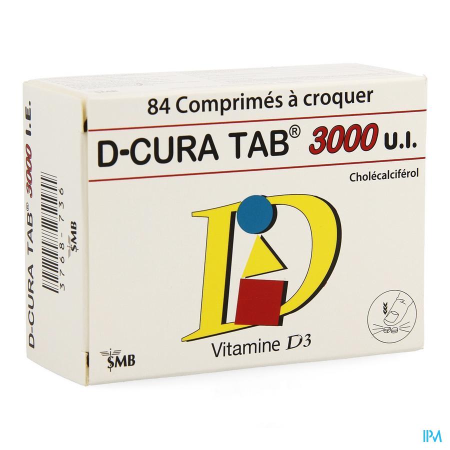D-cura Tab 3000 Comp A Croquer 84