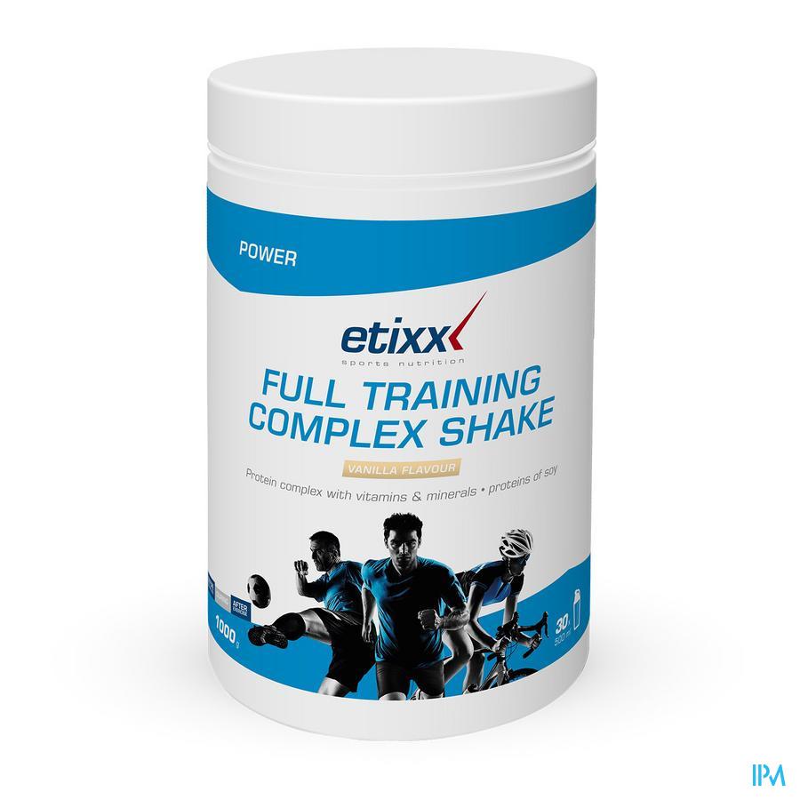 Etixx Full Training Vanille Poeder 1000 gr