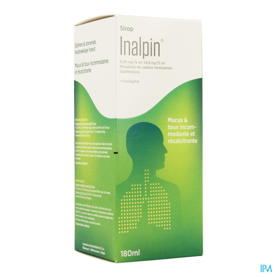 Inalpin Nf Sir 180ml