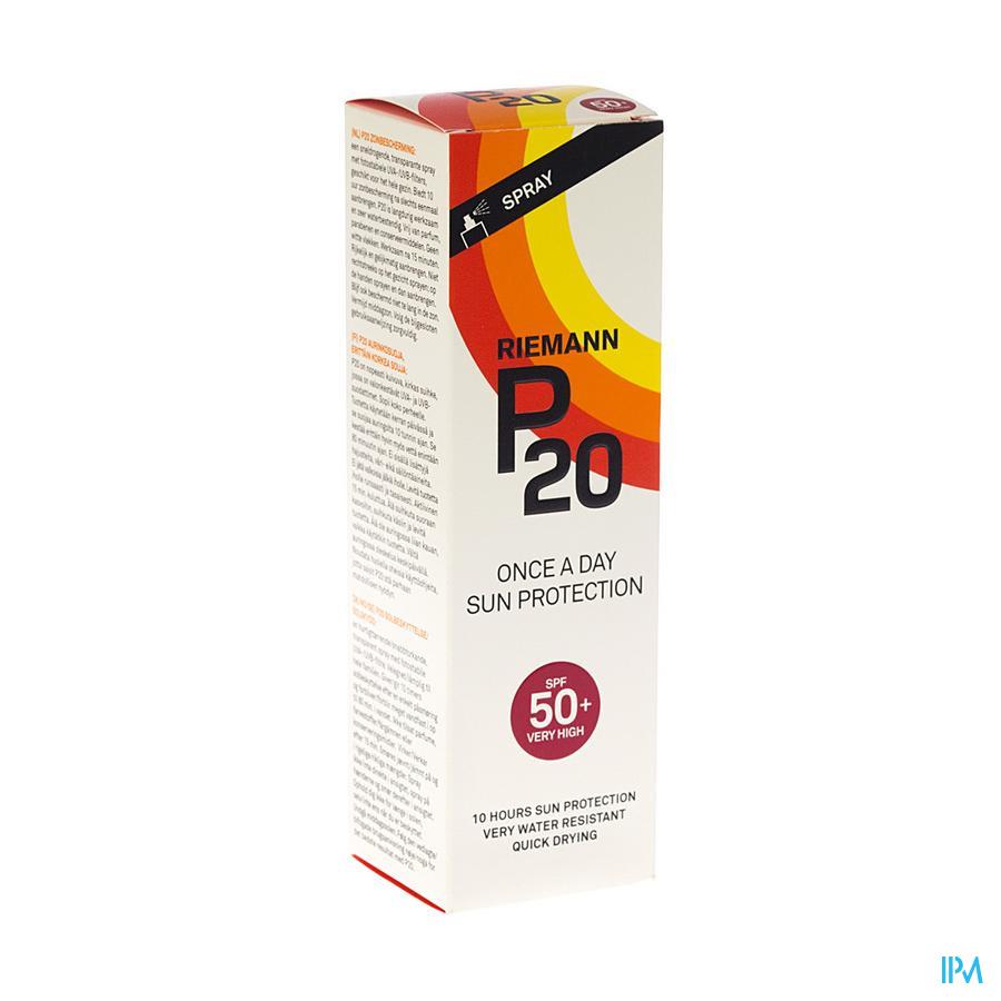P20 Zonnespray Ip50+ 200ml