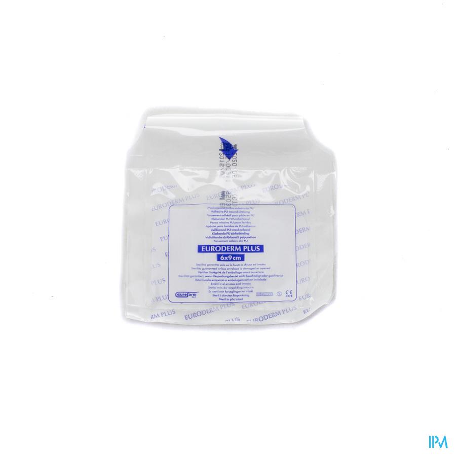 Euroderm Plus 6x 9cm 1 Pansement Steril Wtp