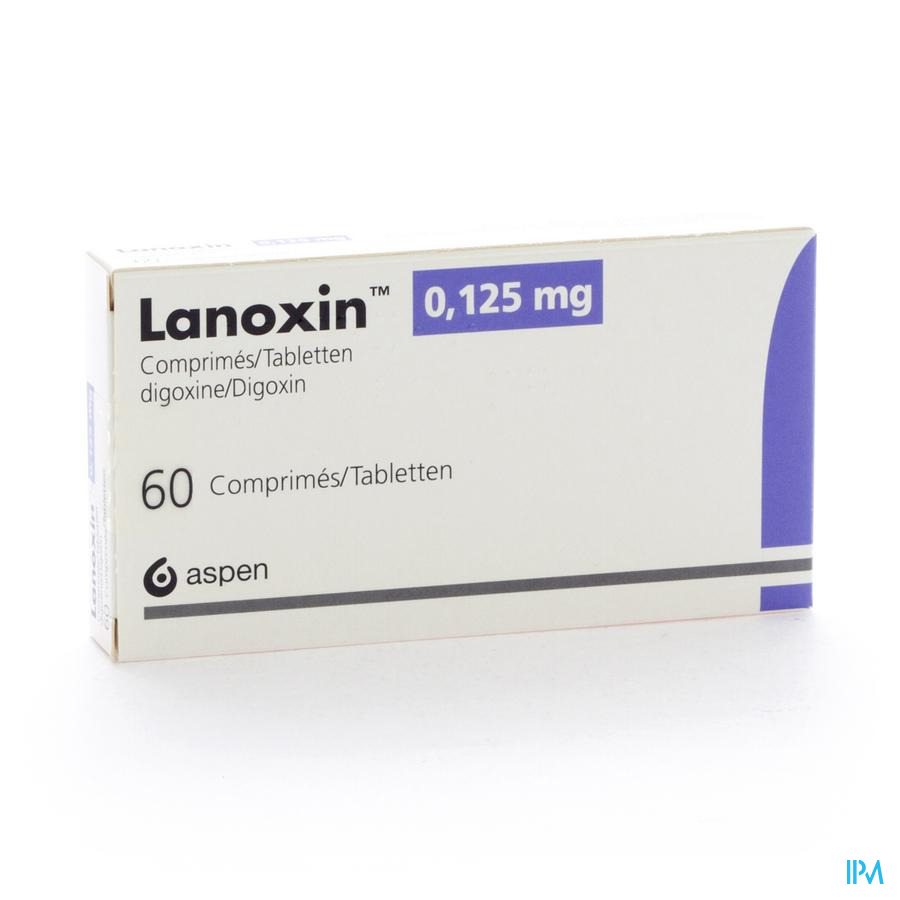 Lanoxin 125 Comp 60 X 0,125mg