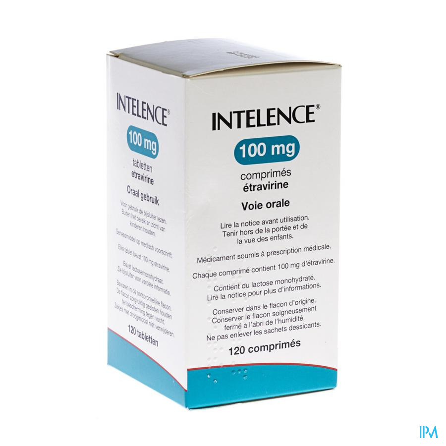 Intelence 100 mg Tabl 120 X 100 mg