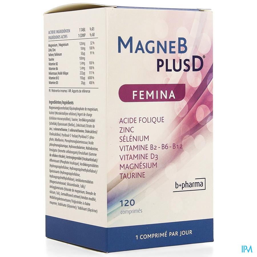 Magne B Plus D Femina Tabl 120 Nf