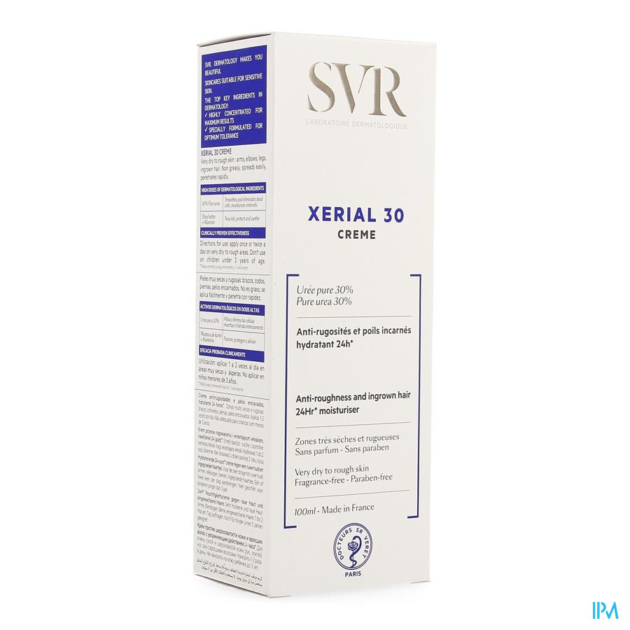 Xerial 30 Creme Corps Tube 100 ml