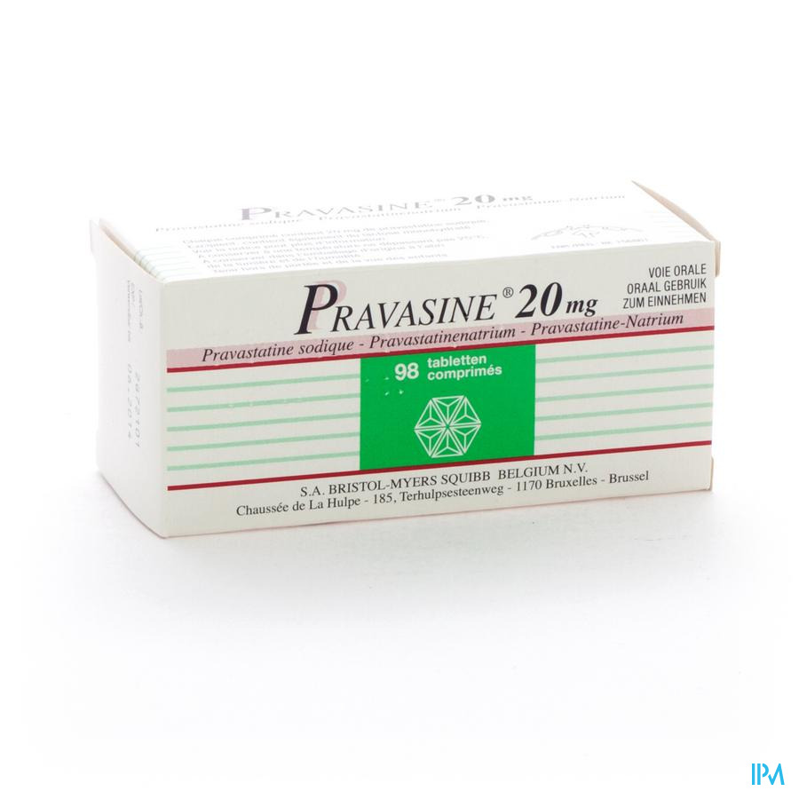 Pravasine Comp 98x20mg