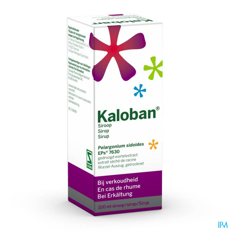 KALOBAN SIROP 100 ML