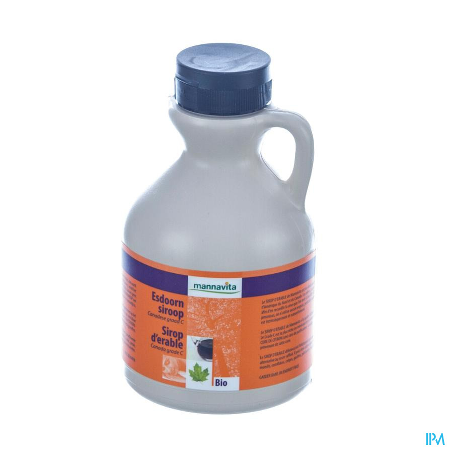 Mannavita Sirop Ahorn Grade C 500 ml